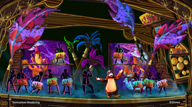 'Mickey and the Magical Map' Debuts Summer 2013 at Disneyland Park, Including Beloved Characters From 'The Jungle Book'