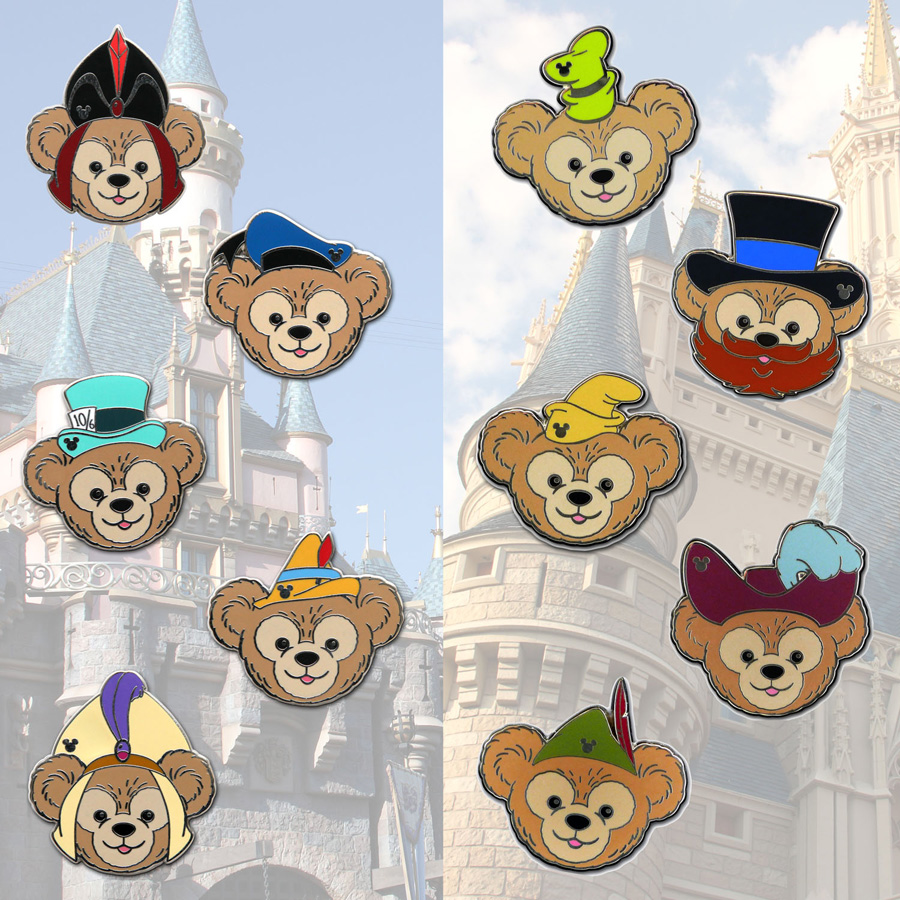Disney Pins On Hats: Celebrate The Seasons With New Duffy The Disney Bear Items