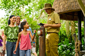 Guests Use MyMagic+ at Disney's Animal Kingdom at Walt Disney World Resort
