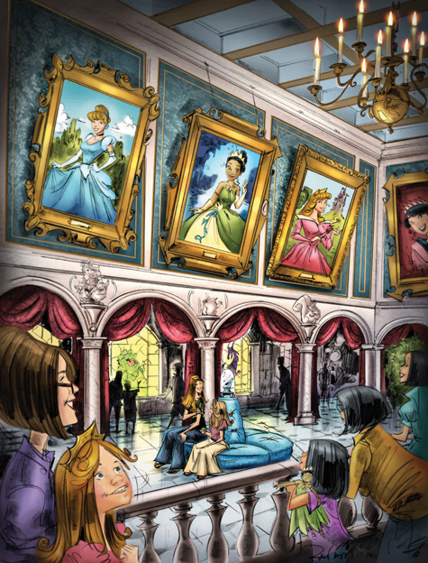 Princess Fairytale Hall, Coming to New Fantasyland at Magic Kingdom Park in 2013