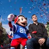 MVP Joe Flacco Celebrates Super Bowl Win at Magic Kingdom Park