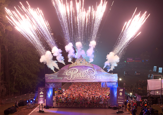 5th Annual Disney's Princess Half Marathon Begins at Walt Disney World Resort