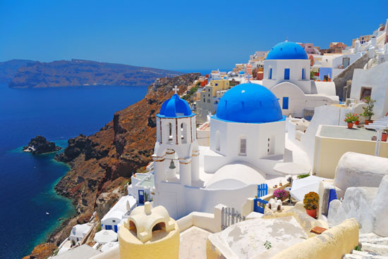 Visit Santorini with Disney Cruise Line