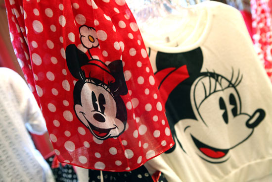 For the Love of Minnie Mouse Scarf