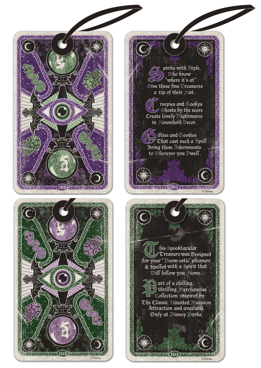 Nine New Chilling Thrilling Haunted Mansion Merchandise Items from