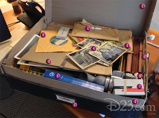 D23 and The Walt Disney Archives Decipher the Contents of Brad Bird's Mysterious 'Tomorrowland' Photo!