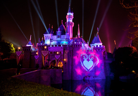 Sleeping Beauty Castle, A Romantic Place at the Disneyland Resort