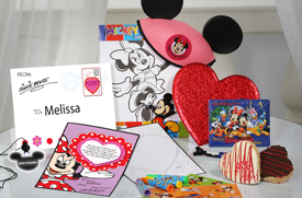 Minnie's Valentine Surprise from Disney Floral & Gifts Makes the Memory of a Lifetime for Your Little Valentine at Walt Disney World Resort