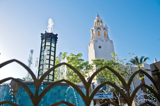 Good Afternoon from Carthay Circle at Disney California Adventure park