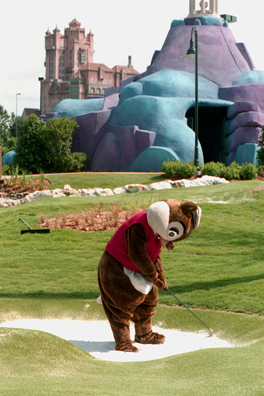 Caption This Dale Visits The Sand Trap At Fantasia