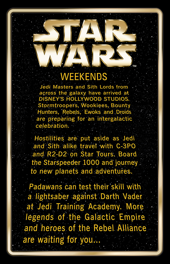 First Look at Star Wars Weekends 2013 Merchandise