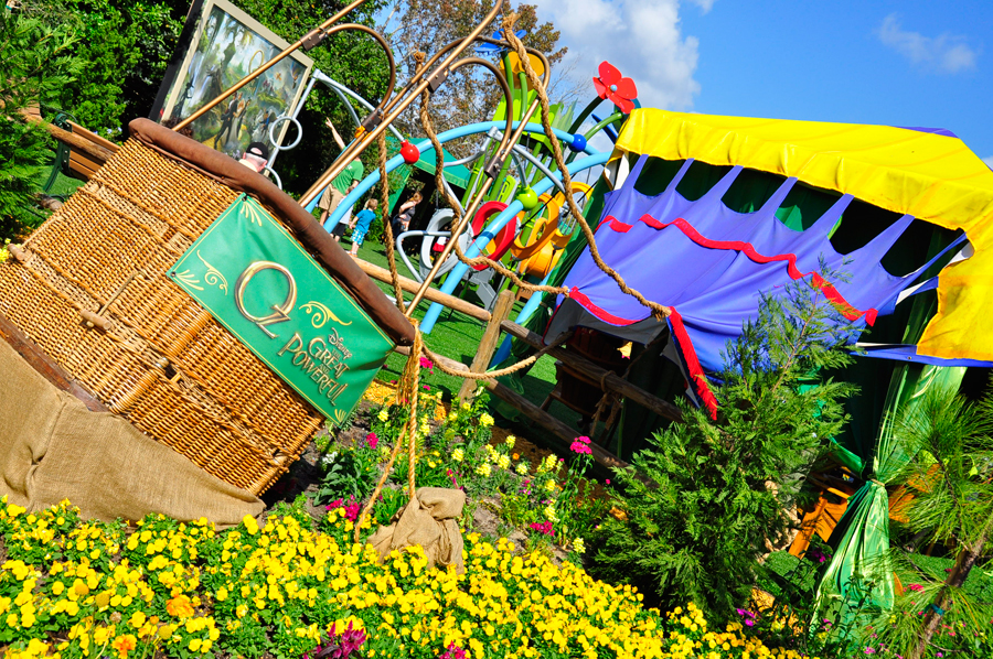 Believe in the Magic of Oz…See it in Bloom at Epcot