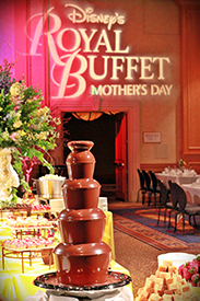Join Cinderella and Her Princess Friends for Disney's Royal Buffet for Mother's Day