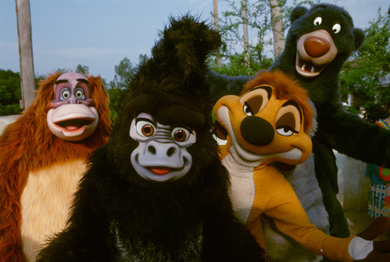 Caption This: Jungle Friends at Disney's Animal Kingdom