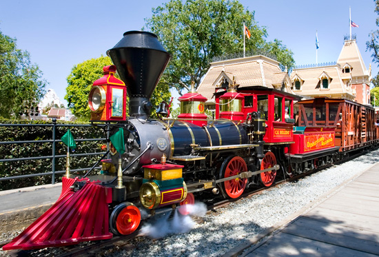 Disneyland Railroad Through the Years