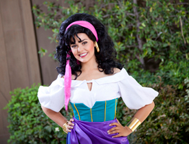 Esmeralda, From 'The Hunchback of Notre Dame,' Will be at Disneyland Park for 'Limited Time Magic'