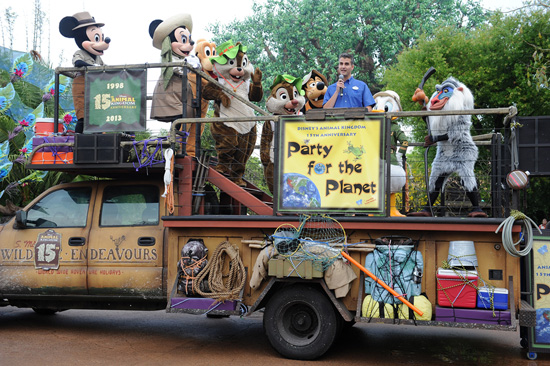 Disney's Animal Kingdom Celebrates 15 Years of Wild Adventure