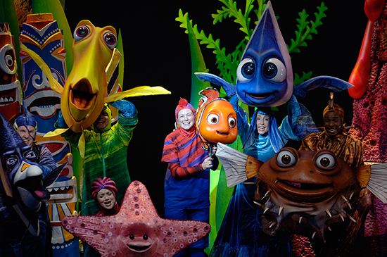 Theater in the Wild at Disney's Animal Kingdom, Now Home to Finding Nemo – The Musical at Walt Disney World Resort