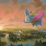 Rob Kaz - Flight Over Fantasyland, at Art of Disney in the Downtown Disney Marketplace
