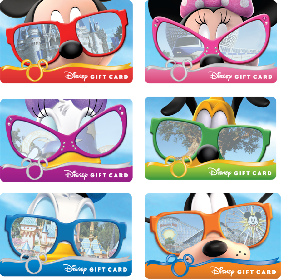 Sun and Fun with Disney Gift Card Sunglasses Series | Disney Parks ...