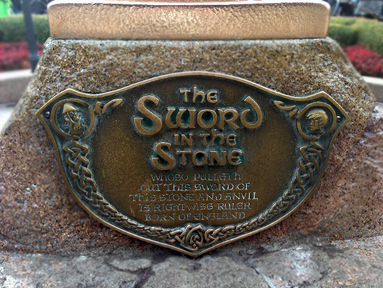 Can You Finish that Disney Parks Sign From The Sword in the Stone at Disneyland Park?