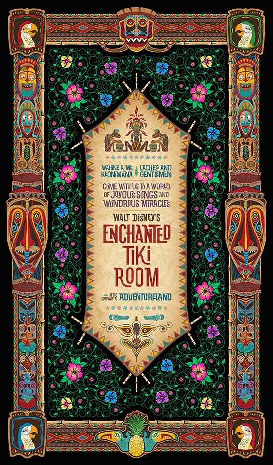 Walt Disney's Enchanted Tiki Room 50th Anniversary Merchandise Event at the Disneyland Resort