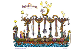 TThe Story of 'Tangled' Will be Highlighted in the Disney Festival of Fantasy Parade Coming to Magic Kingdom Park in 2014