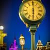 6 a.m. on Main Street, U.S.A., at Magic Kingdom Park