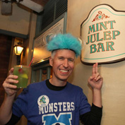 Steven Miller Visits the Mint Julep Bar in New Orleans Square