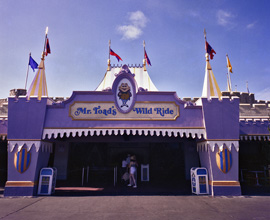 Mr. Toad's Wild Ride, a 'C' Ticket Attraction at Magic Kingdom Park