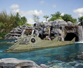 20,000 Leagues Under the Sea, an 'E' Ticket Attraction at Magic Kingdom Park