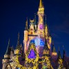 Magic Kingdom Park's Nighttime Castle Projection Show, Celebrate the Magic