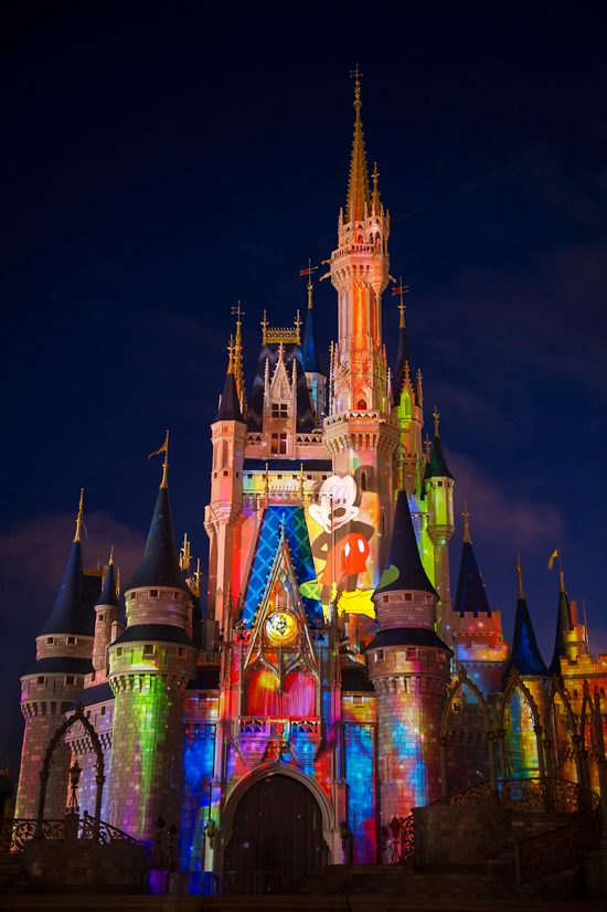 The Nighttime Castle Projection Show,'Celebrate the Magic' Begins This Summer at Magic Kingdom Park