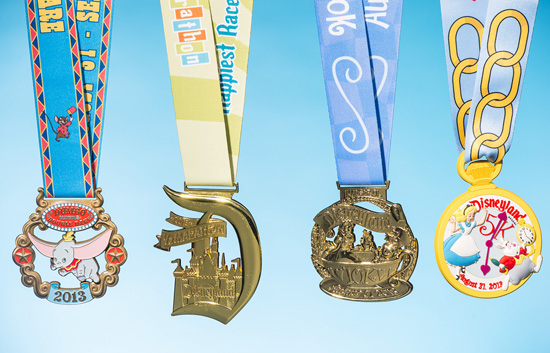 runDisney Reveals Disneyland Half Marathon Weekend Bling