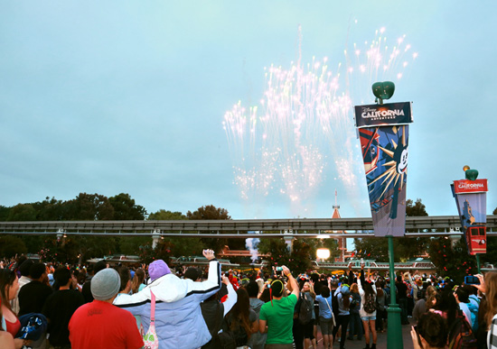 Fireworks Help Kick Off the Monstrous Summer 'All-Nighter' at the Disneyland Resort