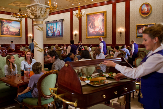 Be Our Guest Restaurant in New Fantasyland in Magic Kingdom Park Big Winner at National Restaurant Association Awards