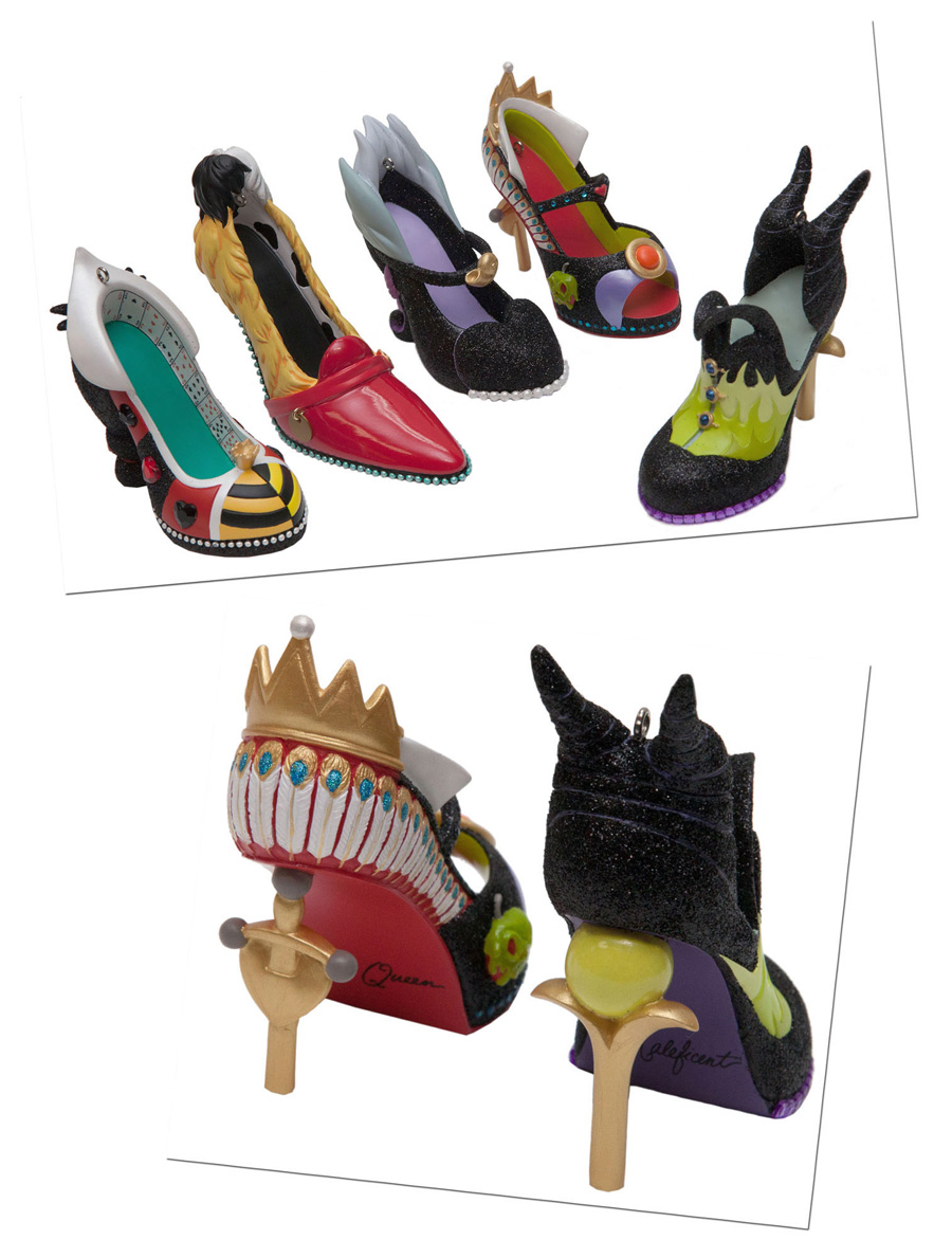 Shoe ornament clips - Stylish Shoe Ornaments Strutting Into Merchandise Locations This Spring At Disney Parks