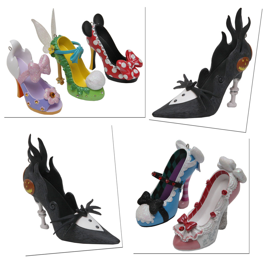Disney ornament sets - Stylish Shoe Ornaments Strutting Into Merchandise Locations This Spring At Disney Parks