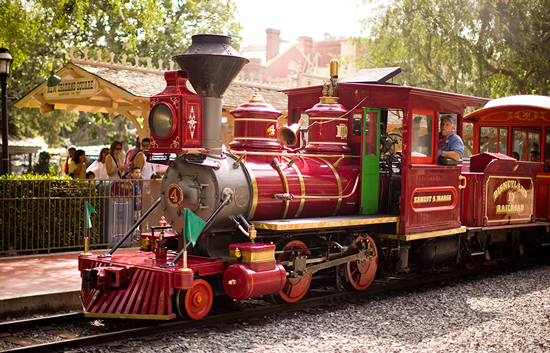 Ernest S. Marsh, One of the Steam Engines on the Disneyland Railroad