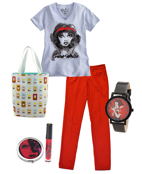 Disney Style Snapshots: A Snow White-Inspired Look