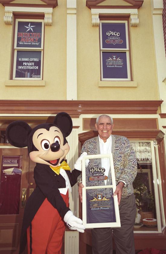 Windows on Main Street, U.S.A., at Disneyland Park: Orlando Ferrante
