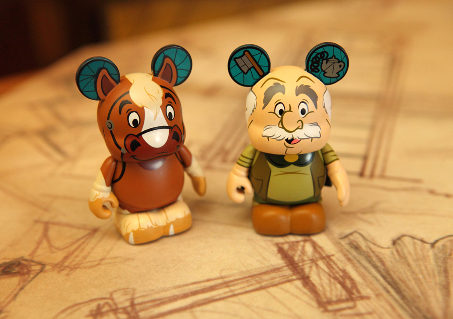 New Beauty And The Beast Inspired Vinylmation Series Debuting At Disney Parks On