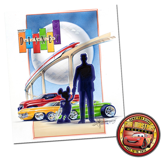 Chip Foose Returns to D-Street with New Artwork for Downtown Disney Car Masters Weekend on June 15-16