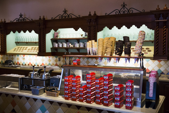 Clarabelle's Hand-Scooped Ice Cream at Disney California Adventure Park