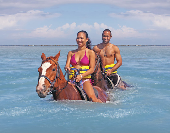 Chukka Horseback Ride and Swim - Visiting Jamaica with Disney Cruise Line