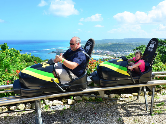 Bobsled Jamaica - Visiting Jamaica with Disney Cruise Line