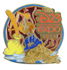 D23 Expo 2013 Pins Coming to the Dream Store