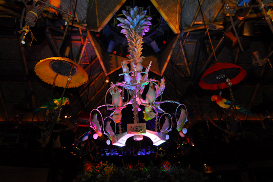 All the Birds Sing Words and the Flowers Croon at Walt Disney's Enchanted Tiki Room