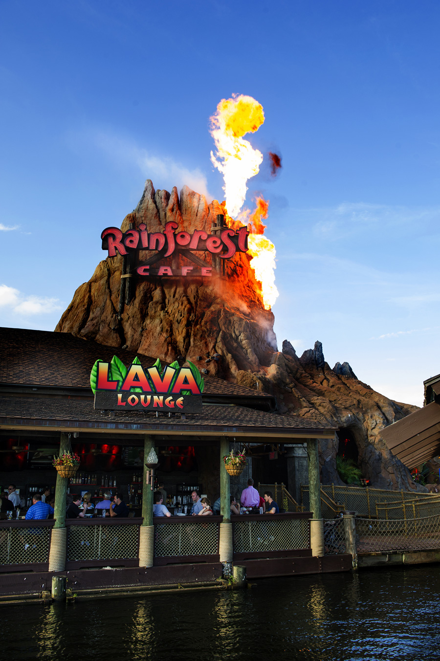 Rainforest Cafe Downtown Disney Lava Lounge