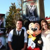 Lee DeWyze and Wife, Jonna, at Disney California Adventure Park for World Premiere of Disney/Jerry Bruckheimer Films' 'The Lone Ranger'